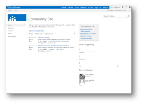 SharePoint 2013 Hosting – New Features in SharePoint 2013