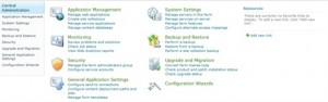 SharePoint-Central-Administration