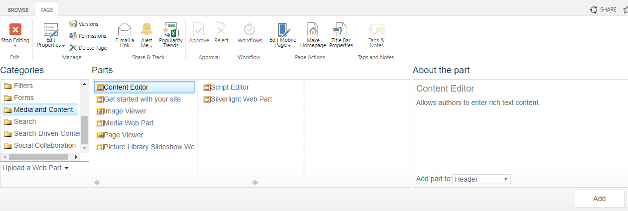 sharepoint-online-branding-create-tabbed-menu