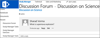 SharePoint Hosting News: How to Create Discussion Forum in